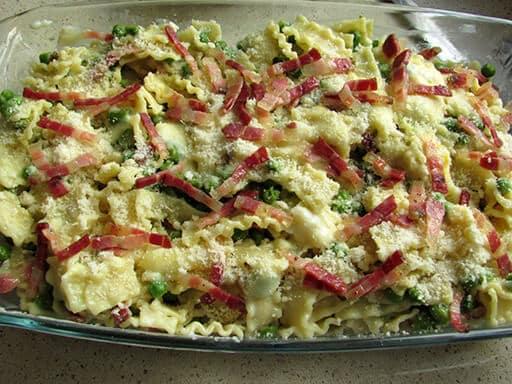 pasta al forno pancetta